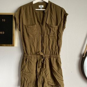 Old navy Green Romper